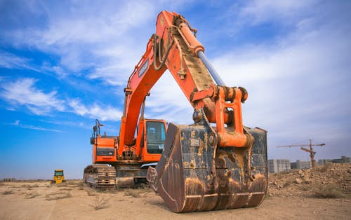 Working with heavy equipment